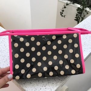 Kate spade make up bag. Perfect condition!